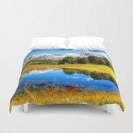 mountain_landscape Duvet Cover