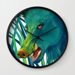 Hog's Head Wall Clock