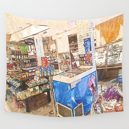 Daily Scenes - Bakery Wall Tapestry