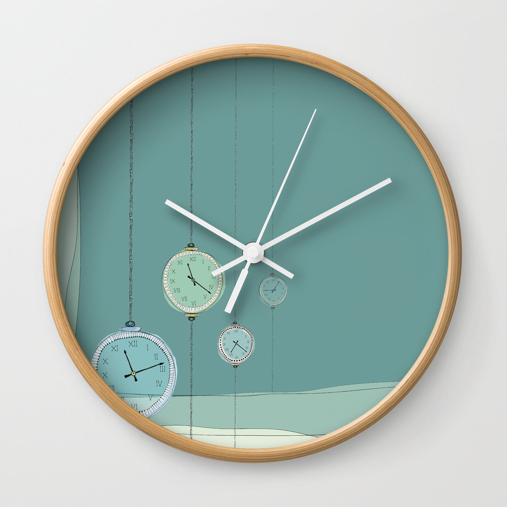 Ticking Clocks Wall Clock by Indesigno CLK7787204