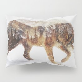 Arctic Wolf Pillow Sham