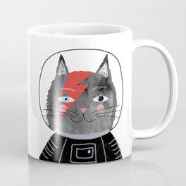 Bowie Cat Coffee Mug