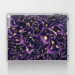 Flower Market 2 - Purple Iris Laptop & iPad Skin