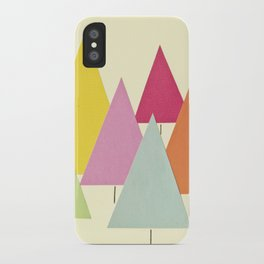 Fir Trees iPhone Case