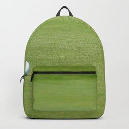 Golf balls near flagstick Backpack