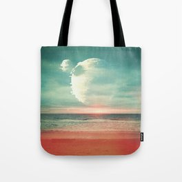 Ghost Planet Tote Bag