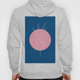 Abstract Pink Moon Hoody