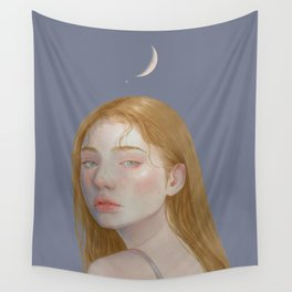Moonlit Wall Tapestry