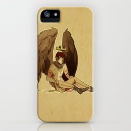 bird prince iPhone Case
