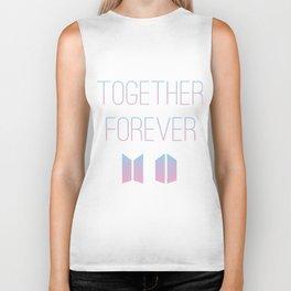 Together Forever BTS Biker Tank
