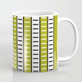 Stripes Pattern 203 (green stripes) Coffee Mug