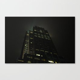 Night Atmosphere Canvas Print