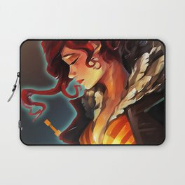 Transistor's Red Laptop Sleeve