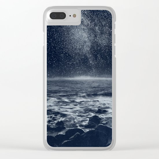 the Dreaming Ocean Clear iPhone Case