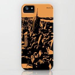 Emerald Night iPhone Case
