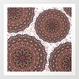 Mandala Sensualità Art Print