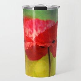 Adorable Poppies... Travel Mug