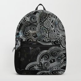 marble and ornaments Backpack