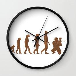 Paintball / Speedball Evolution Wall Clock