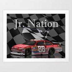 Jr. Nation Art Print