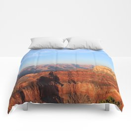 Grand Canyon South Rim at Sunset Comforters