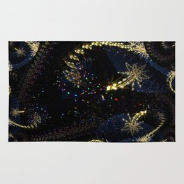 Sparkles and Star Fractal Rug