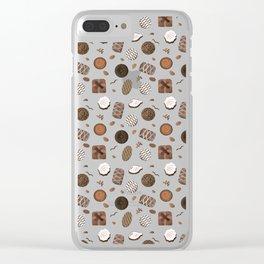 Chocolatier Chocolate Candies Clear iPhone Case