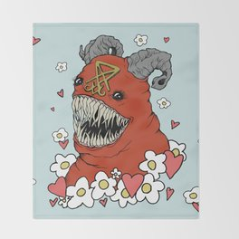 Lovey Devil Throw Blanket