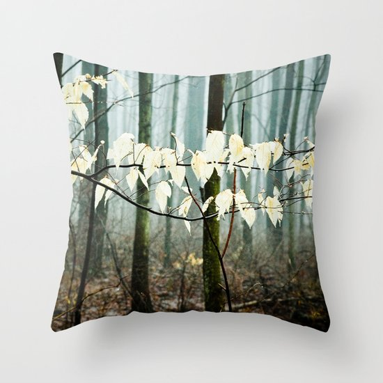 Dreams of the Sun on a Rainy Day Throw Pillow