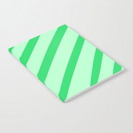 Leaf Stripes Notebook
