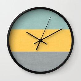 three stripes - sweet bee Wall Clock
