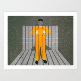Free in Captivity Art Print