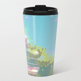 Hanauma Bay, Oahu Lifeguard Tower Travel Mug