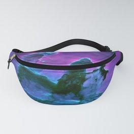 Nebula Purple Blue Pink Fanny Pack