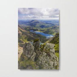 Top Of Snowdon Metal Print