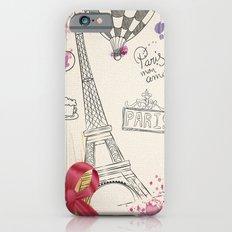 Greetings from Paris iPhone 6s Slim Case
