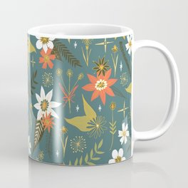 bright fun floral pattern Coffee Mug
