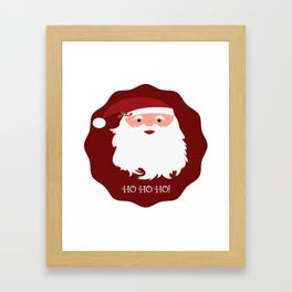 HO HO HO! Framed Art Print