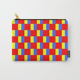 Mix of flag: Paris and Roma. Carry-All Pouch