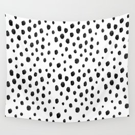 Messy Dots Wall Tapestry