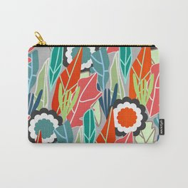 Floral jungle Carry-All Pouch
