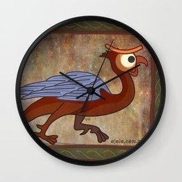 basilisc eye Wall Clock