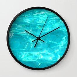hot water Wall Clock