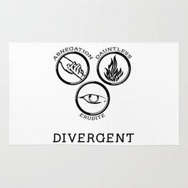 Divergent (Black) Rug