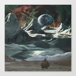 space wanderer Canvas Print