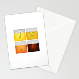 Golden Nectar Stationery Cards