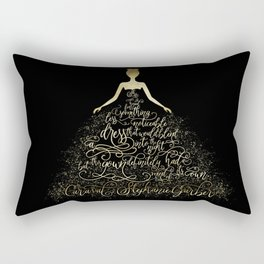 Scarlett's Enchanted Dress. Caraval Rectangular Pillow