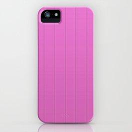 Dva Basic Stripes Pink Skin iPhone Case