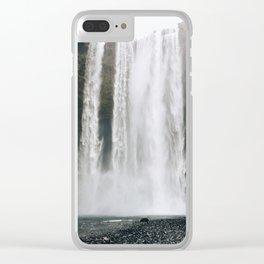 Seljalandsfoss, Iceland Clear iPhone Case