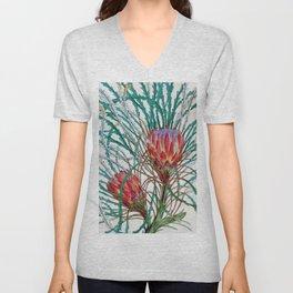 A Protea flower Unisex V-Neck